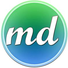 self created: the very first testing melaDigital logo