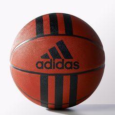 Bola 3 Stripes 29.5 - Basketball Natural adidas  65a83798e7f0f