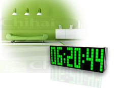 3-inch Green light Led Clock, you deserve it.