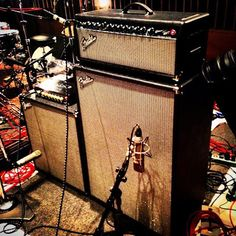 Rumble and Bassman Pro rigs by Fender.