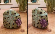 Julegave? Fødselsdagsgave? Værtindegave eller ....?. Ihvertfald sten malet som gave i fin indpakning, matchende sløjfe og til- og fra kort.