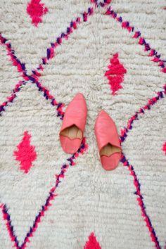 Pink Moroccan Rug #etsy