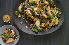 Spicy chicken chipotle salad