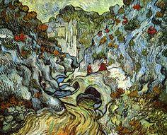 A Path through a Ravine Vincent van Gogh - 1889