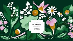 Product packaging pattern trends for 2020 Floral Illustrations, Botanical Illustration, Digital Illustration, Pattern Illustration, Character Illustration, Tea Packaging, Product Packaging, Product Labels, Beauty Packaging