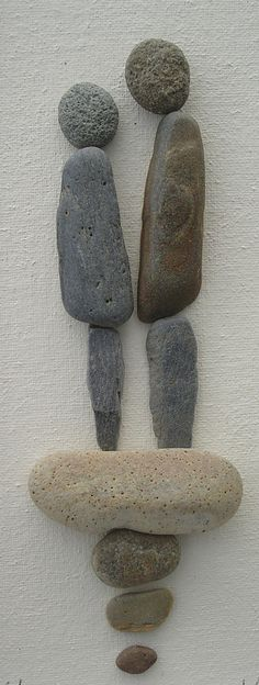 Pebble Art: Pebbles on canvas www.thestoneartgallery.com Facebook: The Stone Art Gallery