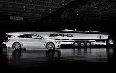 Cigarette One AMG  #racing #boat