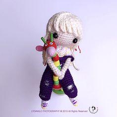 """Weibo crochet activity @ 云舒 ☁️ (原创/pattern creator: @HJ-Handmade )"""