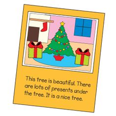 Seasonal Activity: writing using recycled greeting cards. You could actually do it with any card.  Good idea!