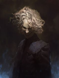 """jameszapata: """"Cinder from Patrick Rothfuss' Kingkiller Chronicles. I've been wanting to paint this character and others from these books for a while. If you haven't read them yet you are doing a serious disservice to yourself. """""""