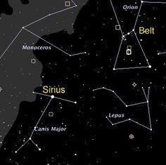 CONHECENDO AS CONSTELAÇÕES-Sírius-Constelação de Canis Major | A Luz é Invencível