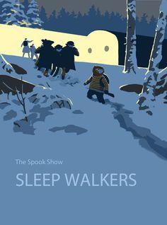 Sleep Walkers graphic novel cover  by ~EllenBarkin on deviantart.com