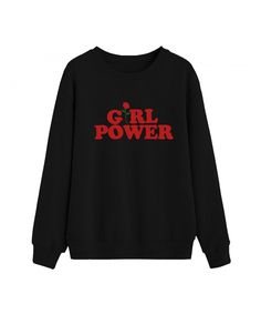 23e1870770 Women Round Neck Sweaters Graphic Cute Pullover Long Sleeve Funny  Sweatshirts - Black - CO187CGHD27