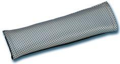 Unitec 84845 - Almohadilla para cinturón de seguridad, color plateado