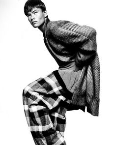 Duckie Brown Fall 2012    Image by Platon