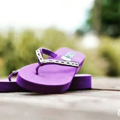 099bb78bcf734 Francescas Fancy Flops purple flip flops