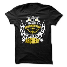 ARCHERY - Get this shirt and represent by wearing it proudly! (Archery/Archer Tshirts)