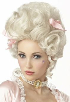 Amazon.com: Marie Antoinette Wig (Blonde;One Size): Clothing