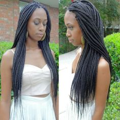 9 Helpful Ways To Keep Your Hair Frizz Free When Installing Braids  Read the article here - http://www.blackhairinformation.com/general-articles/tips/9-helpful-ways-keep-hair-frizz-free-installing-braids/ #braids #frizz #tips