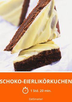 Schoko-Eierlikörkuchen - smarter - Zeit: 1 Std. 20 Min. | eatsmarter.de