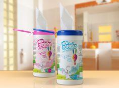 A nova linha de embalagens Meu Carinho capta a atenção da mãe e do bebê. Desenvolvemos uma embalagem certeira para este mercado.