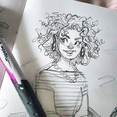 40 Ideas For Art Drawings Simple Character Design Sketchbook Inspiration, Art Sketchbook, Art Drawings Sketches, Cute Drawings, Drawing Art, Figure Drawing, Pretty Art, Cute Art, Cartoon Kunst
