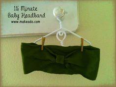 15 Minute Headband (make small piece at least 2x1.5)
