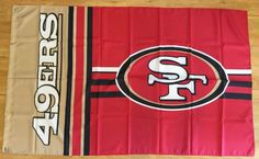 NFL San Francisco 49ers Football 3x5 Flag Banner Man Cave Gift Free Shipping #SanFrancisco49ers