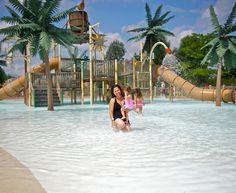 Parc aquatique Amazoo Yoplait au Zoo de Granby