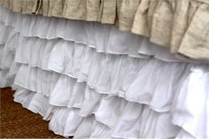 @Rosenberry Rooms is offering $20 OFF your purchase! Share the news and save!  Audrey Bed Skirt #rosenberryrooms