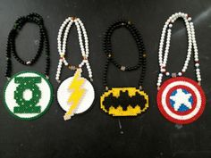 perler superheo necklaces