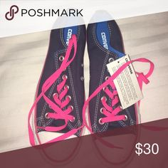 Blue & pink converse💙💗 Never worn, NWT converse! Converse Shoes Sneakers