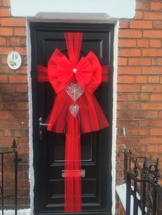 Find This Pin And More On Door Bows By Christopher Clarke