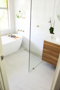 Bathroom Drain, Bathtub, Bathroom Renovations Perth, Linear Drain, Wet Rooms, Master Bath, Chrome, Flooring, Videos