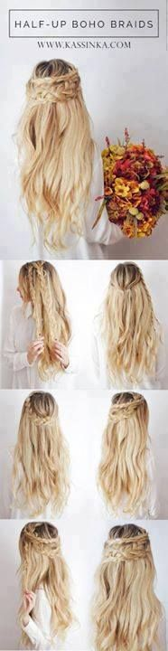 20 Simple and Easy Hairstyle Tutorials For Your Daily Look...