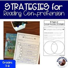 Teaching Resources & Lesson Plans | Teachers Pay Teachers 2nd Grade Reading Worksheets, Reading Comprehension Worksheets, Comprehension Strategies, Reading Is Thinking, Daily 5, Graphic Organizers, Teacher Pay Teachers, Lesson Plans, Teaching Resources