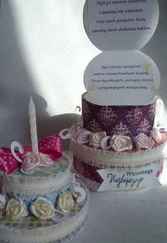 Niskokaloryczny tort, z niespodziankami! :)