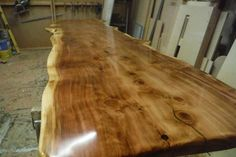 Wood Slab Tops