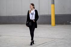 black and white, sneakers, sporty chic, casual, adidas, zx flux, style, street style, street fashion, ootd, look, style, inspiration, bloger, fashionist, stylist,