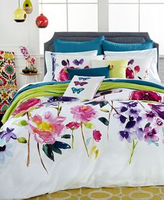 bluebellgray Taransay Comforter and Duvet Sets - Bedding Collections - Bed & Bath - Macy's College Bedding Sets, Twin Xl Bedding Sets, Bedding Sets Online, Queen Comforter Sets, Duvet Sets, Queen Duvet, Twin Comforter, Bluebellgray, King Duvet Set