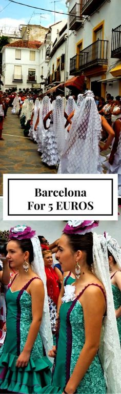 Breathtaking things to do in Barcelona with 5 euros! I had the best time on a tight budget in Catalunya (Catalonia) Spain and here are some free or very low cost activities to love in this gorgeous city. You'll be inspired to visit immediately!