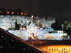 #Ships at #Edinburgh #Tattoo Edinburgh | tattoos picture edinburgh tattoo