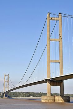 The Humber Bridge, Kingston upon Hull, East Yorkshire Hull 2017, Beautiful Places In England, Kingston Upon Hull, Hull City, South Yorkshire, Skyscrapers, Local News, British Isles, Great Britain