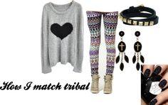 """Tribal matching"" by iris-moodbord on Polyvore"