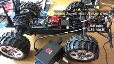 Raspberry Pi + Arduino robot project - night vision, remote control and more.