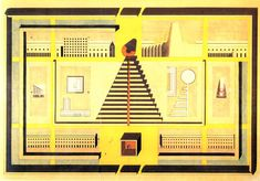 Juxtapoz Magazine - Drawings and Sketches by Italian Architect Aldo Rossi