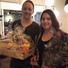 Met maar liefst 14 verzamelde stempels zijn Sinclair en Katja de winnaars van #Stampions aan de Zaan 2015! #SADZ15 #gefeliciteerd