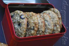 Les gourmandises d'Isa: GALETTES AU GRUAU ET AUX PÉPITES DE CHOCOLAT