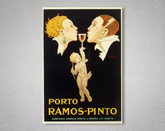 Porto Ramos Pinto Vintage Food&Drink Poster - Poster Paper, Sticker or Canvas Print  For Bulk Orders (minimum order 30 items) please contact us.