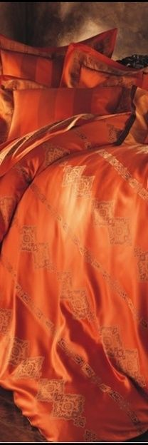orange.quenalbertini: Orange bedding | Essence of a woman